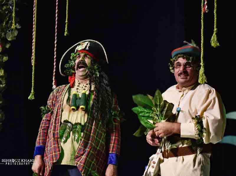 ادبیات نمایشی اجرای نمایشنامه کاشف گیج